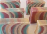 The first new spring soap is now curing—Spring Fling!